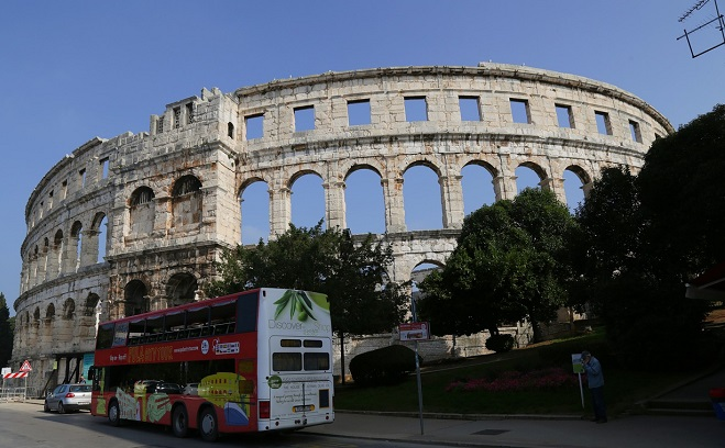 The Pula amphitheatre