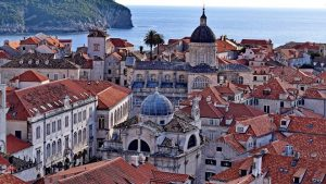 A photo of Dubrovnik town