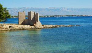 Fortress on the Vir island of Croatia